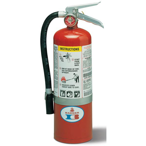 5# Standard ABC Dry Chemical Stored Pressure Extinguisher with Wall Bracket 3A:40B:C)