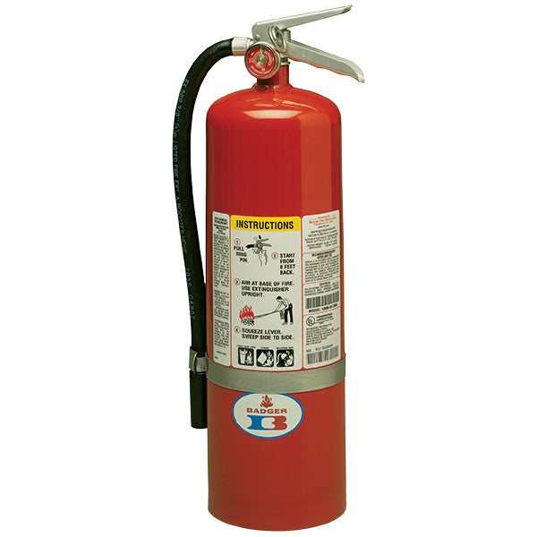 10# Standard ABC Dry Chemical Stored Pressure Extinguisher with Wall Bracket (4A:80B:C)