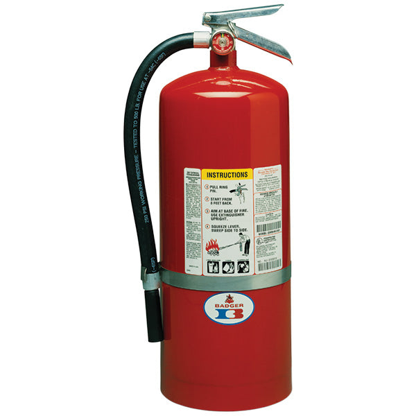 20# Standard ABC Dry Chemical Stored Pressure Extinguisher with Wall Bracket (20A-120BC)