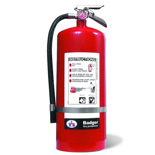 20# Standard BC Dry Chemical Stored Pressure Extinguisher with Wall Bracket (120B:C)