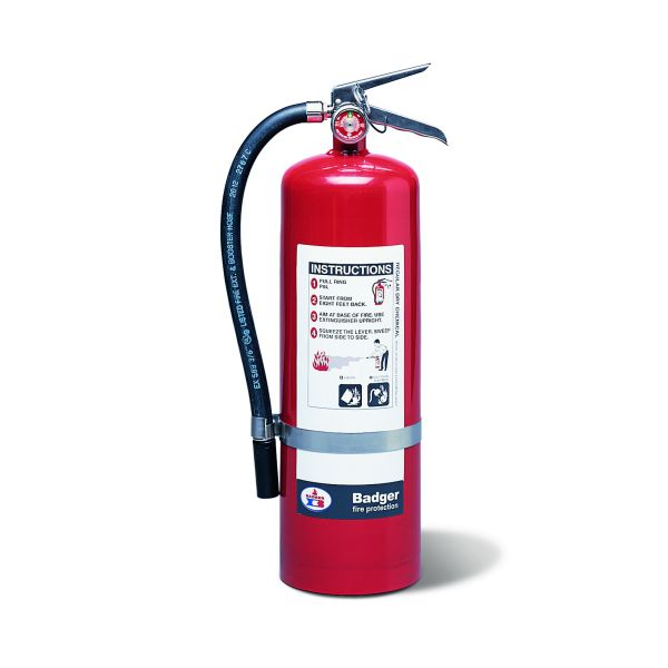 10# Standard BC Dry Chemical Stored Pressure Extinguisher with Wall Bracket (60B:C)