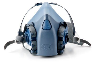 Half mask Respirator by 3M with Cool-Flow valve