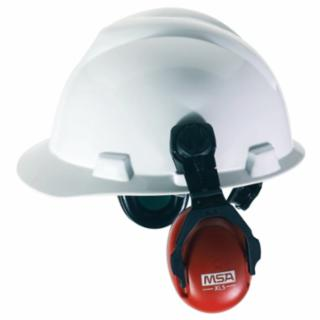 NRR 23 Cap Mount Style Red Ear Muffs