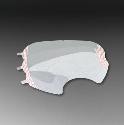 Tear Off Lens Covers for 6000 Series Full Face Respirators, Pack of 25