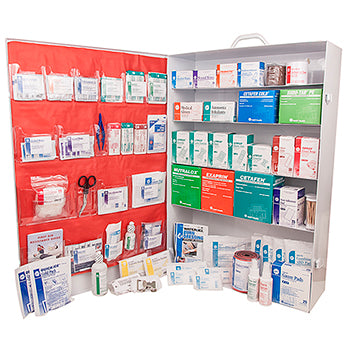 5 Shelf Class B Deluxe First Aid Cabinet