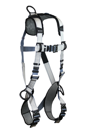 FlowTech LTE Harness with 3 D-rings, Back and Sides; Quick Connect Legs and Chest, unbelted