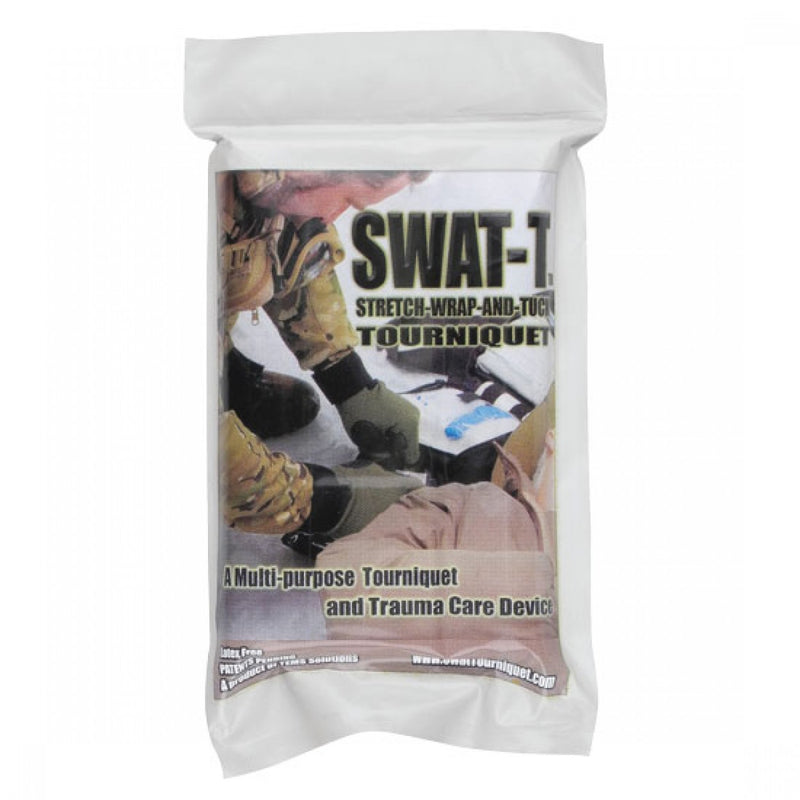 Swat-T Tourniquet with Tension Indicators to prevent over tightening,