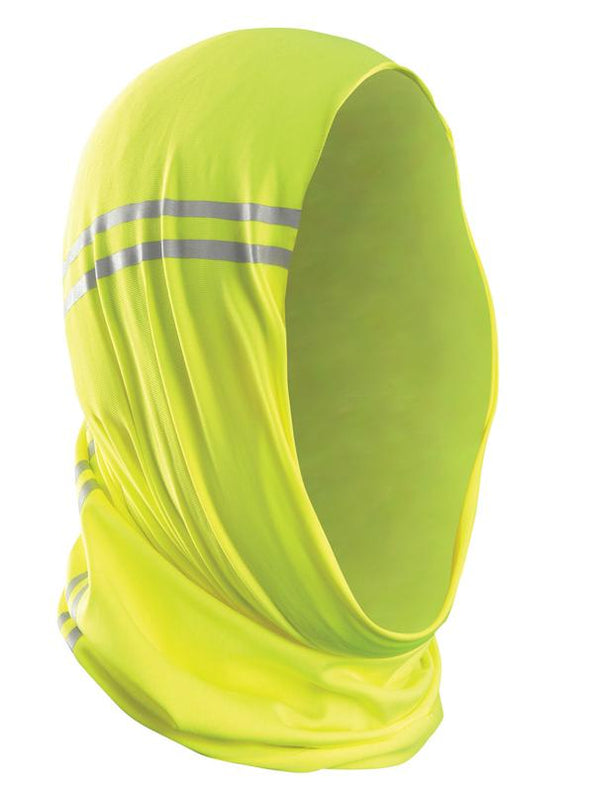 Yellow Wicking and Cooling Gaiter, One Size Fits All