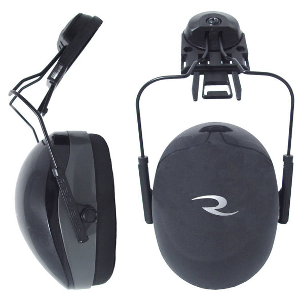 NRR 26 Black Cap Mount Ear Muff