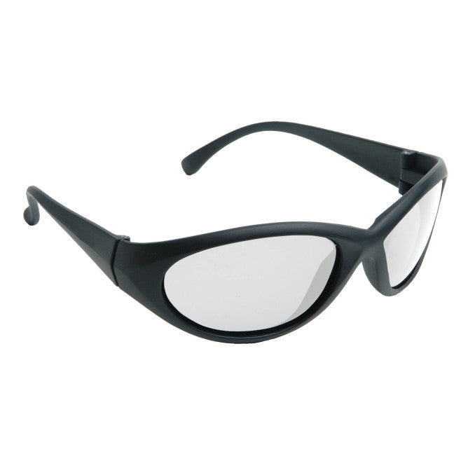 Radians Cobalt Polarized Smoke Lens Safety Glass with Black Frame