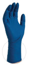 15 mil Blue Powder Free Latex Exam Glove, box of 50 (thick)