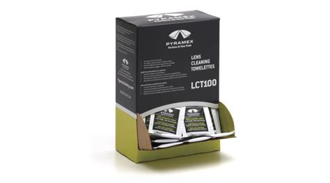 Lens Cleaning Towelettes with Anti-Fog protection, box of 100