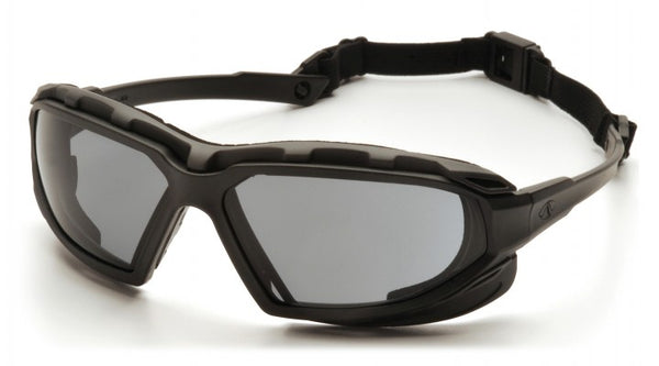 Highlander Plus H2MAX Anti Fog Safety Glass/Goggle with Foam Lining