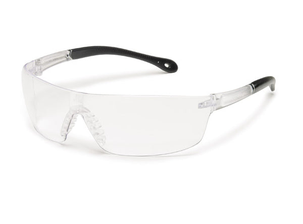 StarLite® Squared Safety Glass with Soft Nosepiece and Rubber Temples