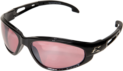Dakura Gloss Black Frame Designer Safety Glass with soft temples