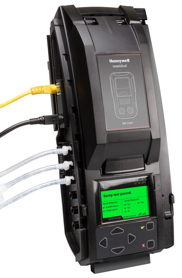 BW IntelliDoX docking station for GasClip Single Gas monitors
