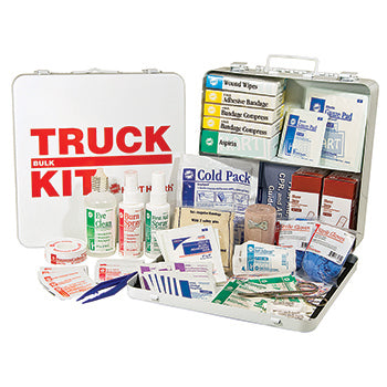 ANSI 2015 Class A Portable First Aid Kit in Weatherproof Steel Case. X-Large