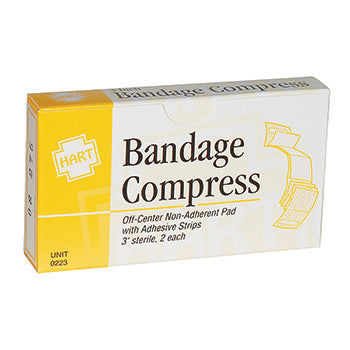 3in Bandage Compress Non Adhesive, 2 per unit