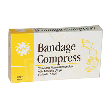 "4"" Bandage Compress Non Adhesive, 1 per unit"