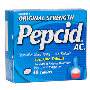 Original Strength Pepcid AC Acid Control Tablets, 30 count