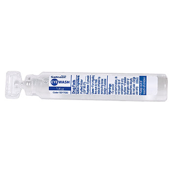 1/2 oz Eye Wash Sterile Irrigating Solution, Single Use Bottle