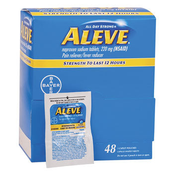 Aleve Pain Reliever (220 mg naproxen sodium), 48 caplets