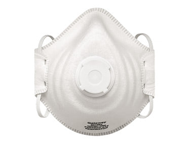 PEAK FIT N95 Disposable Respirator with Valve, 10 per box