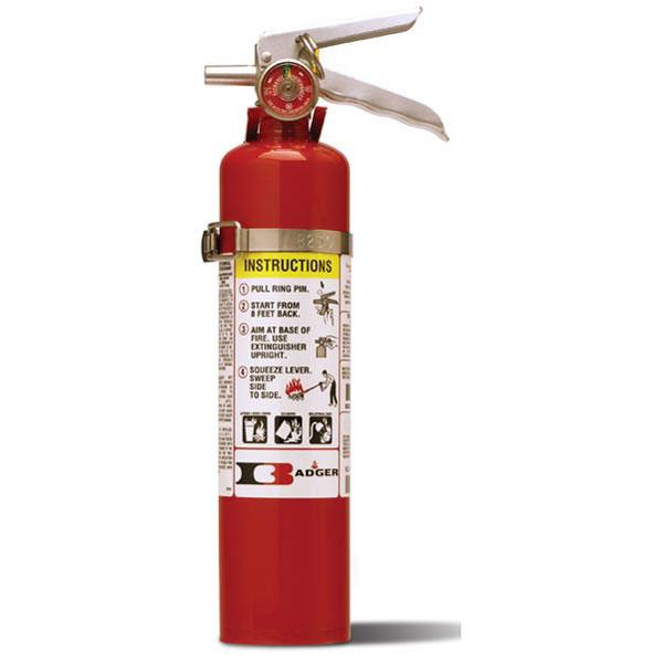 2.5# Standard ABC Dry Chemical Stored Pressure Extinguisher with Vehicle Bracket (1A:10B:C)
