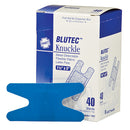 Knuckle Bandage, Blue Metal Detectable, 40 per box