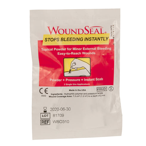 QR Wound Seal Powder, 2 packs