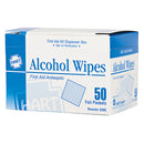 Alcohol Wipes, Box of 50
