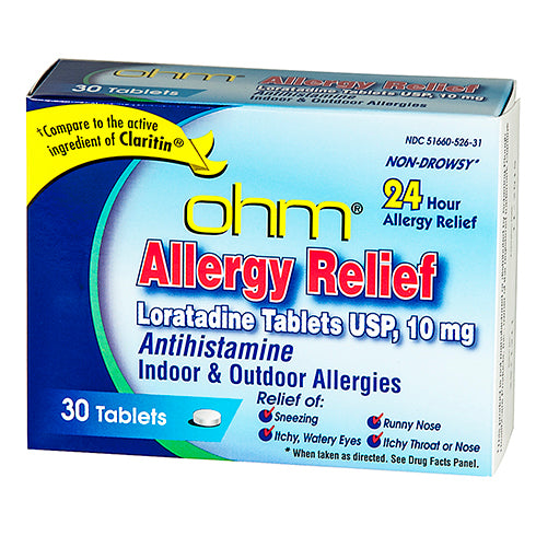 Non-Drowsy Allergy Relief Loratadine  Tabs, 30 count