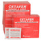 Cetafen Multi-Symptom Cough and Cold tablets, 50 packs of 2