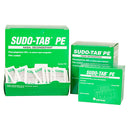 SUDO-TAB PE Non-Drowsy Decongestant Tablets (Phenylephrine HCL 5 mg), Box Qty: 50 packs of 2