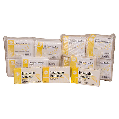 Compressed Cloth Triangle Bandage, 40 X 40 X 56