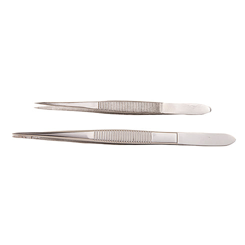 "4-1/2"" SS Extra Fine Point Splinter Forceps (tweezers)"