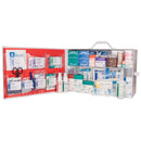 Deluxe 2 Shelf First Aid Cabinet Fully Stocked, ANSI 2015 Class A Fill