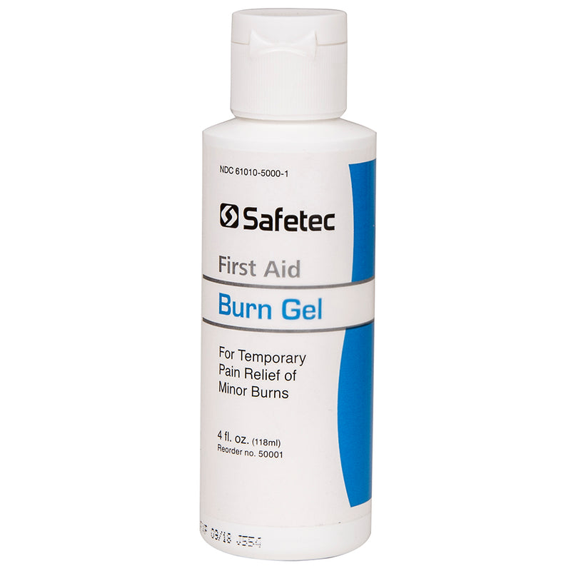 Safetec Burn Gel, 4oz Bottle