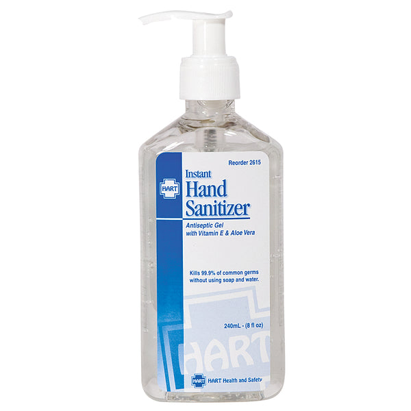 8 oz Hand Sanitizer with Aloe Vera
