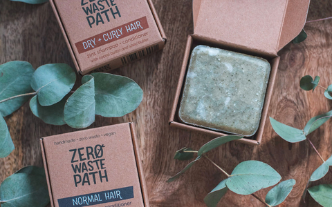 Eco friendly plastic free natural soap bars