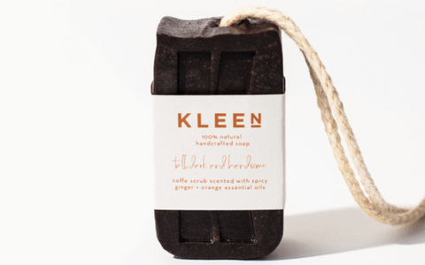 Kleensoaps Plastic Free Soap on a rope