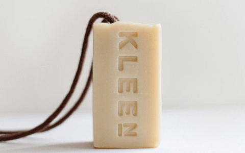 Pure Natural Soap on a rope for sensitive skin