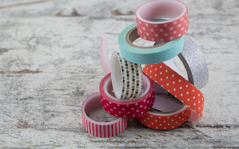 Eco friendly plastic free washi tape