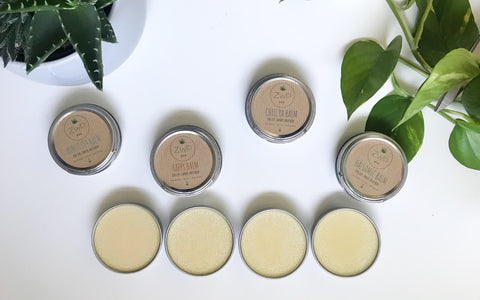 Zero Waste Path Dry Skin Balms