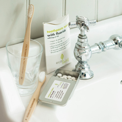 Eco Friendly Bath & Beauty Products Toothpaste Tablets - Eco Living