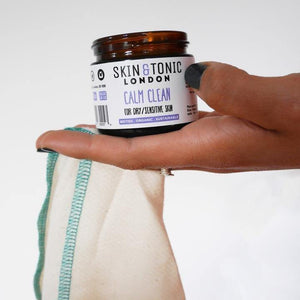 Skin & Tonic - Calm Clean + Free Face Cloth 50g | The Ideal Sunday