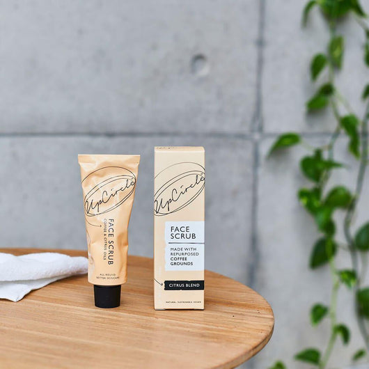UpCircle - Coffee Face Scrub Citrus Blend 100ml | The Ideal Sunday