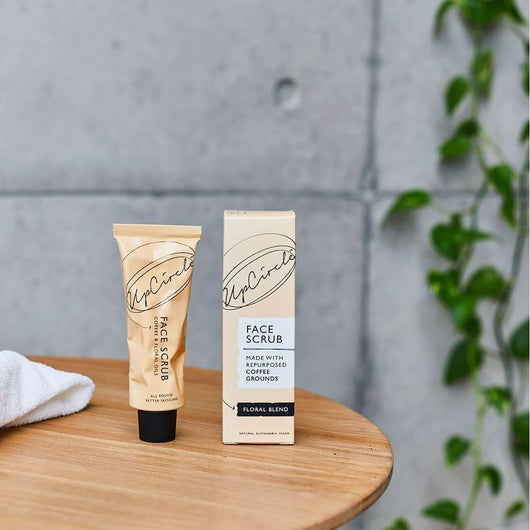 UpCircle - Coffee Face Scrub Floral Blend 100ml | The Ideal Sunday