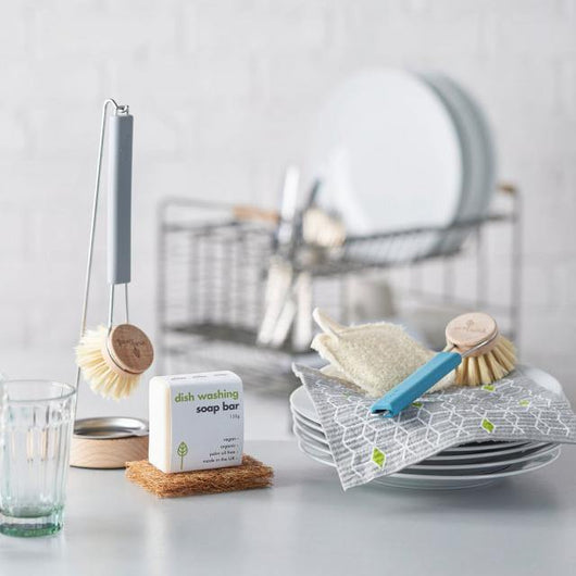 ecoLiving - Dish Brush with Replaceable Head | The Ideal Sunday