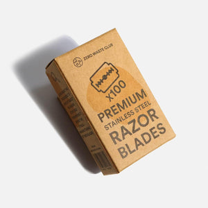 Zero Waste Club - Double Edge Safety Razor Blades - Pack of 100 | The Ideal Sunday